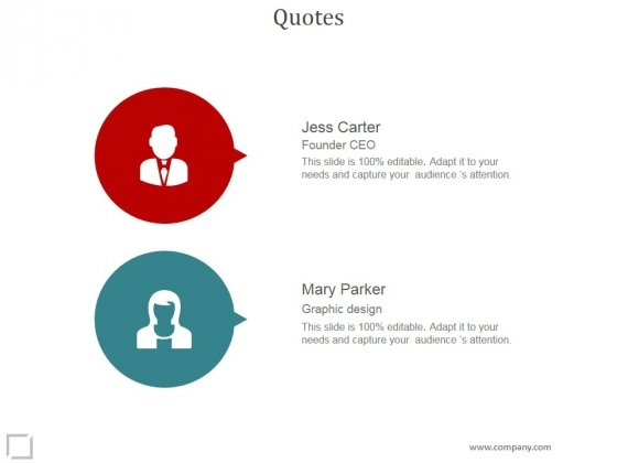Quotes Ppt PowerPoint Presentation Information