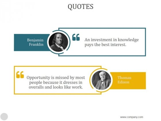 Quotes Ppt PowerPoint Presentation Model