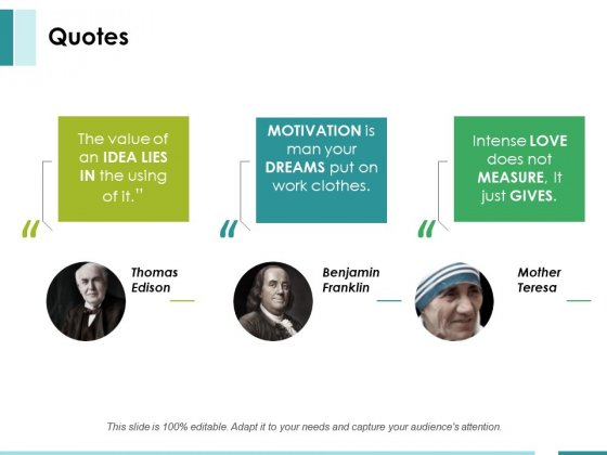 Quotes Ppt PowerPoint Presentation Show Brochure