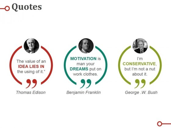 Quotes Ppt PowerPoint Presentation Slides Example