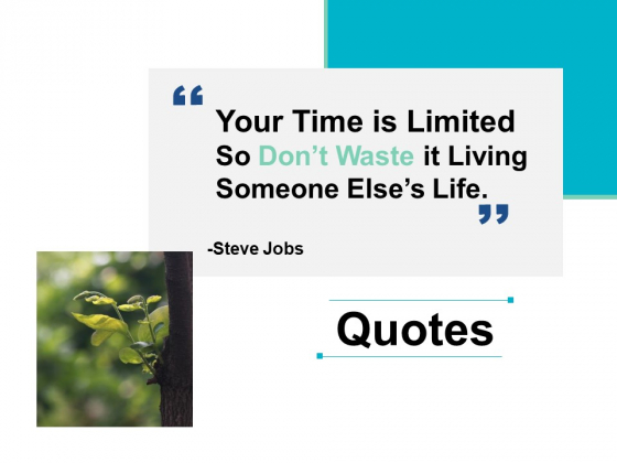 Quotes Ppt PowerPoint Presentation Visual Aids Example 2015