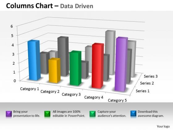 Quantitative Data Analysis 3d Interpretation Of Statistical Quality Control PowerPoint Templates