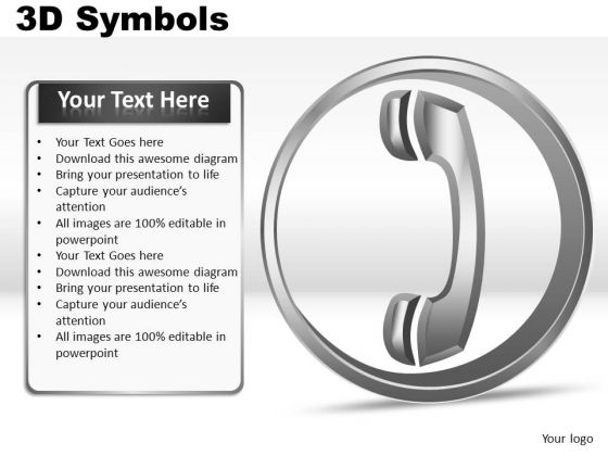 Question 3d Symbols PowerPoint Slides And Ppt Diagrams Templates