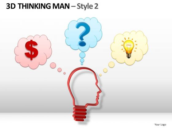 Questions And Ideas To Make Money PowerPoint Templates Dollar Ppt Slides