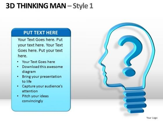 Questions Thinking Person PowerPoint Templates And Ppt Slides