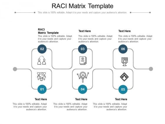 RACI Matrix Template Ppt PowerPoint Presentation Professional Gridlines Cpb Pdf