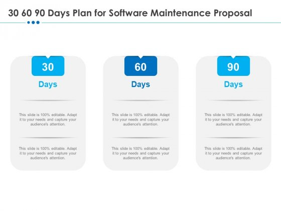 RFP_Software_Maintenance_Support_30_60_90_Days_Plan_For_Software_Maintenance_Proposal_Guidelines_PDF_Slide_1
