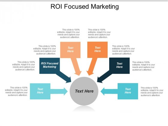 ROI Focused Marketing Ppt PowerPoint Presentation Ideas Summary Cpb