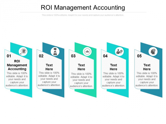 ROI Management Accounting Ppt PowerPoint Presentation Pictures Outfit Cpb