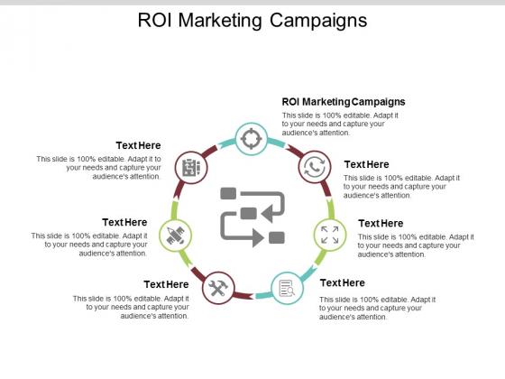 ROI Marketing Campaigns Ppt PowerPoint Presentation Icon Sample Cpb