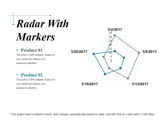 Radar With Markers Ppt PowerPoint Presentation Show Pictures