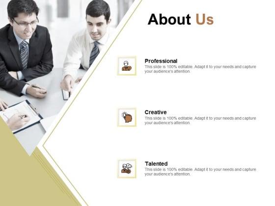 Raise Capital For Business About Us Ppt Portfolio Backgrounds PDF