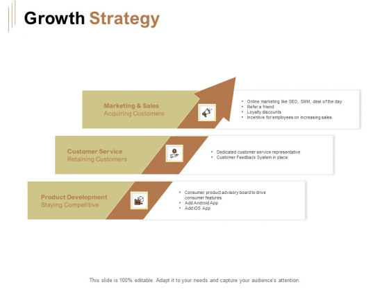 Raise Capital For Business Growth Strategy Ppt Styles Outline PDF
