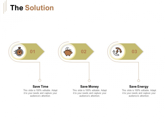 Raise Capital For Business The Solution Ppt Infographics Templates PDF