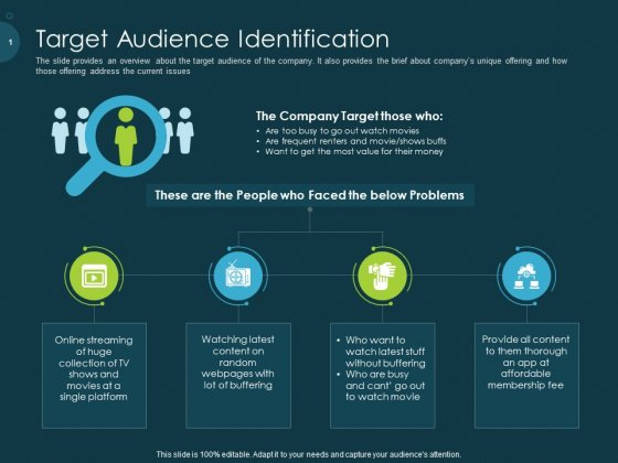 Raise Funding From Pre Seed Capital Target Audience Identification Formats PDF