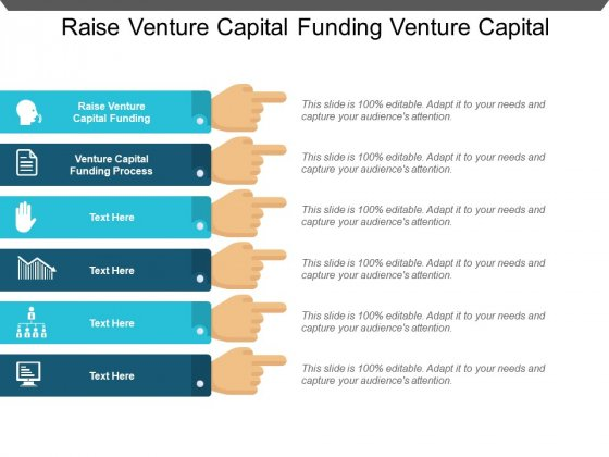 Raise Venture Capital Funding Venture Capital Funding Process Ppt PowerPoint Presentation Pictures Images