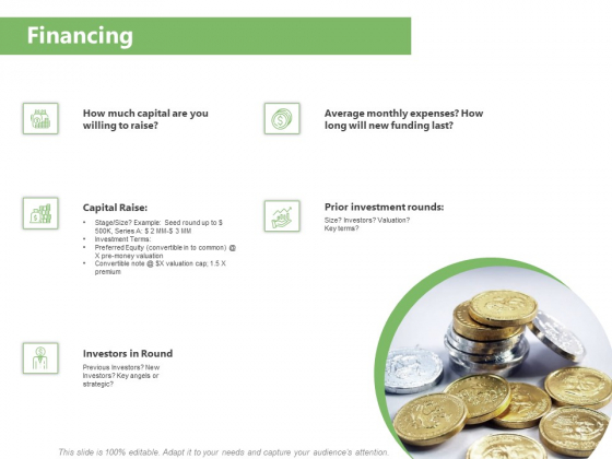 Raising Funds Company Financing Ppt Professional Show PDF