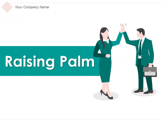 Raising Palm Businessman Winning Contract Ppt PowerPoint Presentation Complete Deck