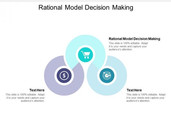Rational Model Decision Making Ppt PowerPoint Presentation Portfolio Themes Cpb