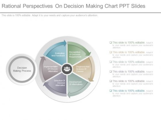 Rational Perspectives On Decision Making Chart Ppt Slides