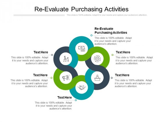 Re Evaluate Purchasing Activities Ppt PowerPoint Presentation Show Clipart Cpb
