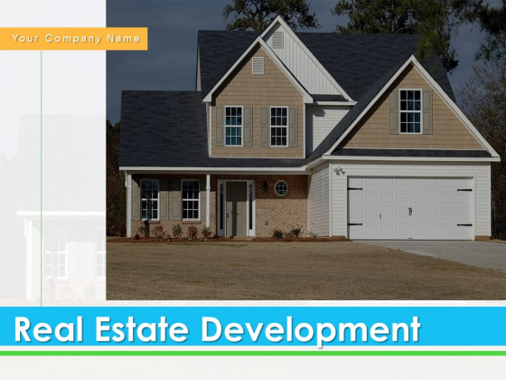 Real_Estate_Development_Ppt_PowerPoint_Presentation_Complete_Deck_With_Slides_Slide_1