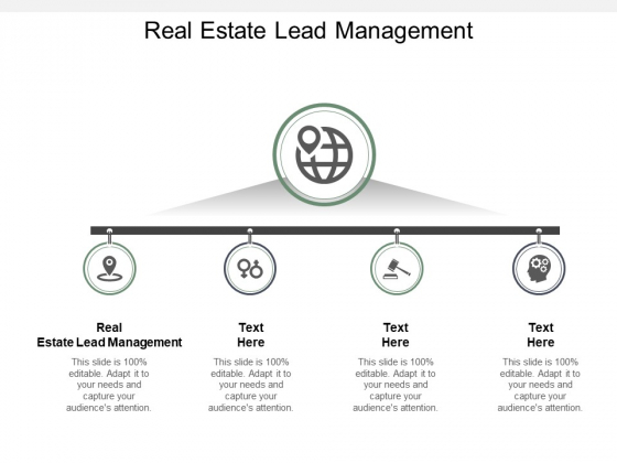 Real Estate Lead Management Ppt PowerPoint Presentation Diagrams Cpb