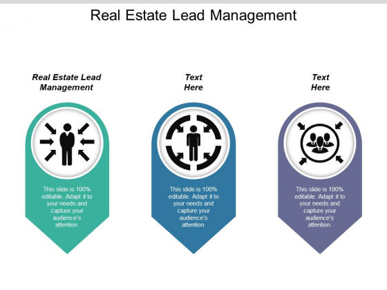 Real Estate Lead Management Ppt PowerPoint Presentation Inspiration Visual Aids