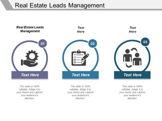 Real Estate Leads Management Ppt PowerPoint Presentation Professional Background Designs