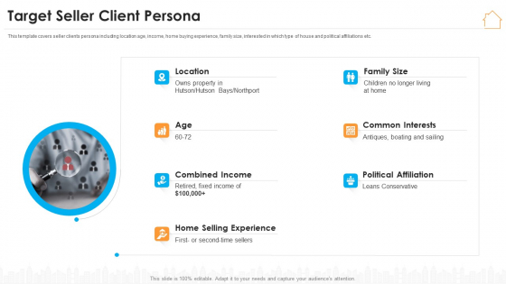 Real Estate Marketing Strategy Vendors Target Seller Client Persona Microsoft PDF