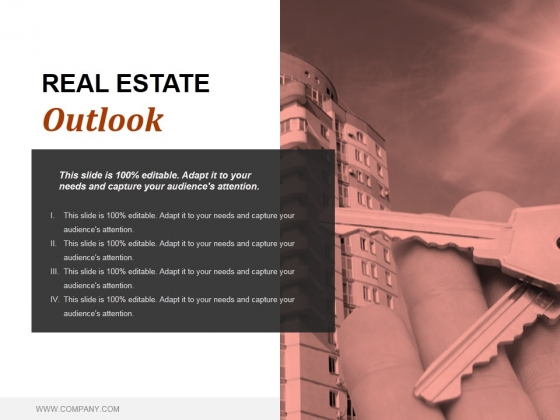 Real Estate Outlook Ppt PowerPoint Presentation Layout