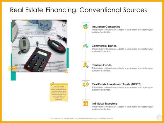 Real_Estate_Property_Management_System_Real_Estate_Financing_Conventional_Sources_Ppt_Ideas_Deck_PDF_Slide_1