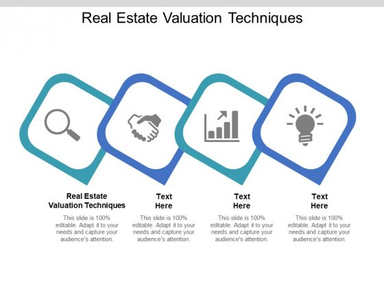 Real Estate Valuation Techniques Ppt PowerPoint Presentation Icon Graphic Images Cpb Pdf