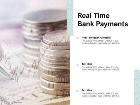 Real Time Bank Payments Ppt PowerPoint Presentation Layouts Professional Cpb Pdf