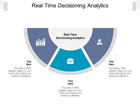 Real Time Decisioning Analytics Ppt PowerPoint Presentation Infographics Files Cpb Pdf