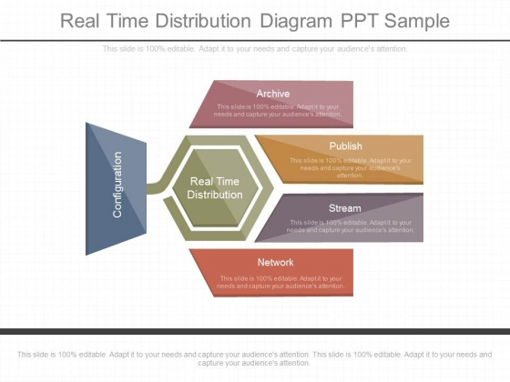 Real Time Distribution Diagram Ppt Sample
