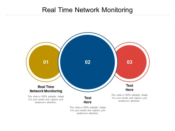 Real Time Network Monitoring Ppt PowerPoint Presentation Slides Outline Cpb Pdf