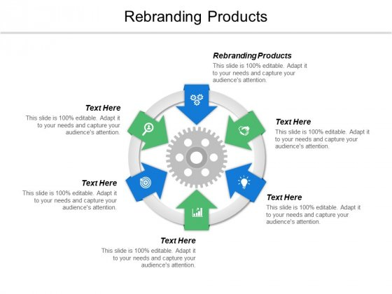 Rebranding Products Ppt PowerPoint Presentation Infographic Template Templates Cpb