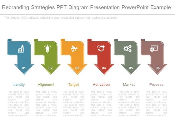 Rebranding Strategies Ppt Diagram Presentation Powerpoint Example