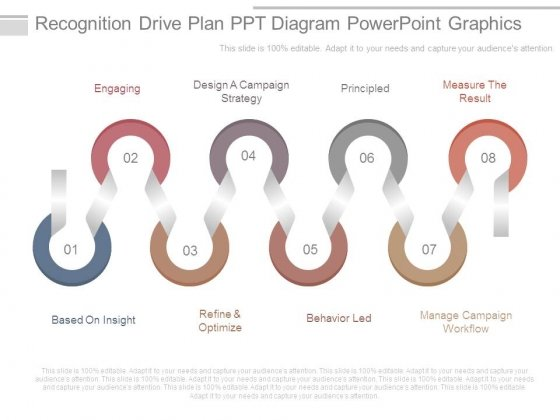 recognition drive plan ppt diagram powerpoint graphics powerpoint
