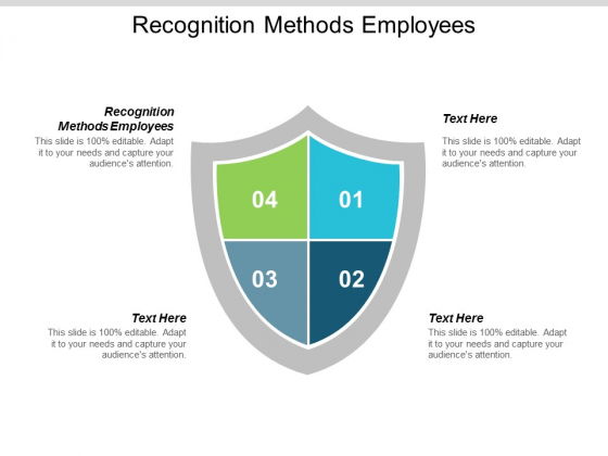 Recognition Methods Employees Ppt PowerPoint Presentation Infographic Template Picture Cpb