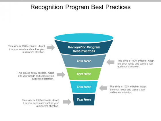 Recognition Program Best Practices Ppt PowerPoint Presentation Gallery Visuals Cpb