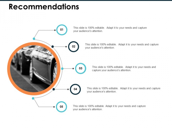 Recommendations Ppt PowerPoint Presentation File Visual Aids