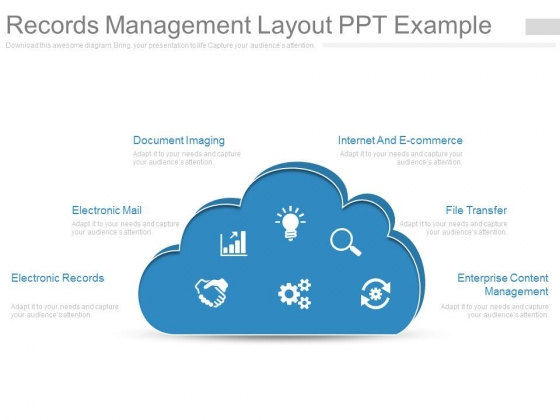 Records Management Layout Ppt Example