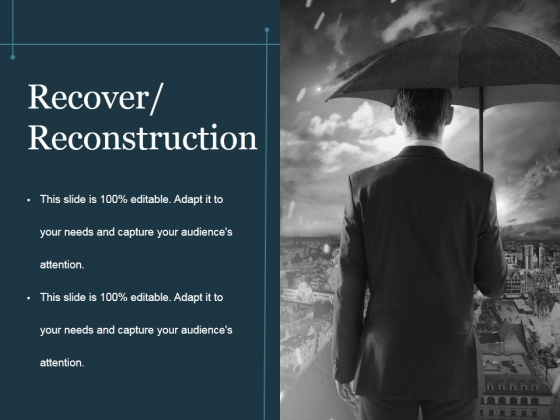 Recover Reconstruction Ppt PowerPoint Presentation Inspiration