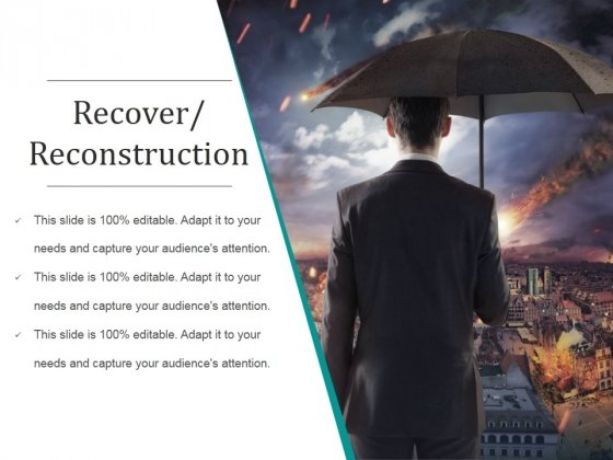 Recover Reconstruction Ppt PowerPoint Presentation Show