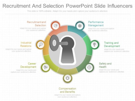 Recruitment And Selection Powerpoint Slide Influencers
