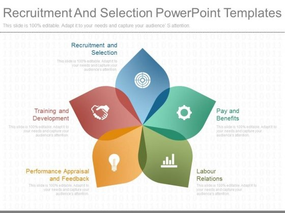 Recruitment And Selection Powerpoint Templates