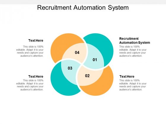 Recruitment Automation System Ppt PowerPoint Presentation Slides Outline Cpb