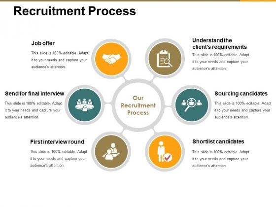 Recruitment Process Ppt PowerPoint Presentation Outline Vector